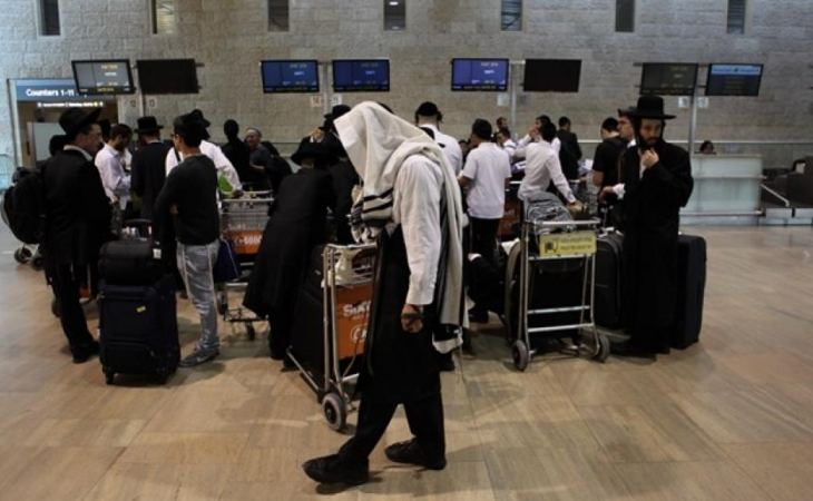İsraildə, New Yorkdan gələn Xabad Hasidimdə koronavirus aşkar edildi
