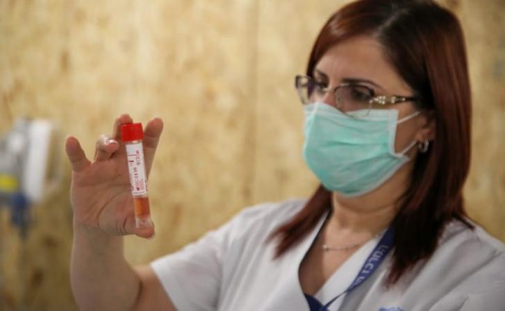 İsrail laboratoriyaları COVID-19 üçün test materiallarını bitirmək üzrədir