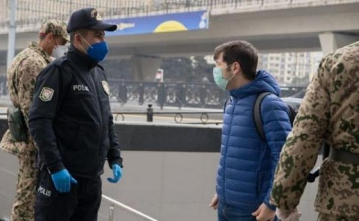 Azərbaycanda polislər koronavirusa yoluxub