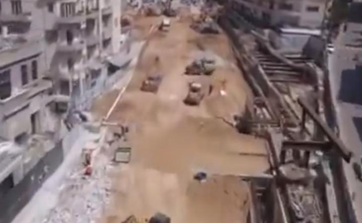 """Tel-Əvivdə metro tikintisinin """"son mərhələsi"""""""