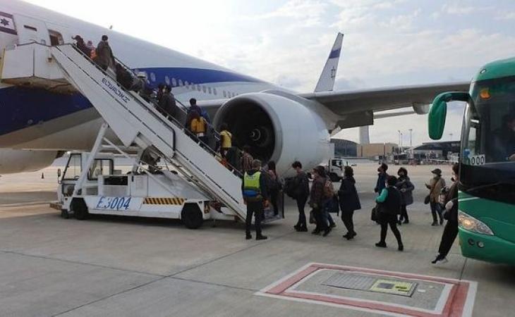 İsrail beynəlxalq istiqamətlərdə hava uçuşlarını bərpa edir