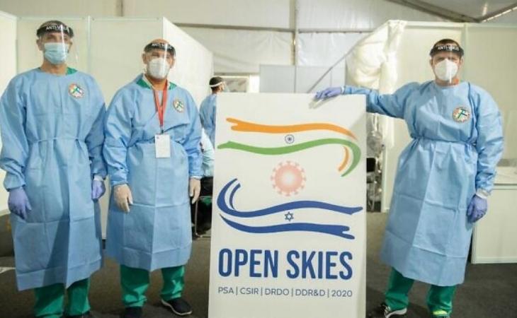 Hindistan, COVID-19 ilə mübarizədə kömək üçün İsrailə rəsmi müraciət etdi