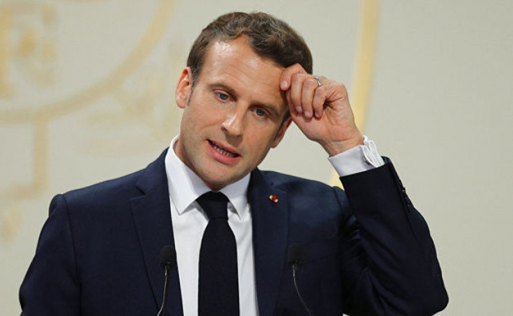 Fransada gərginlik: Ordu Makronu anonim məktublarla HƏDƏLƏYİR