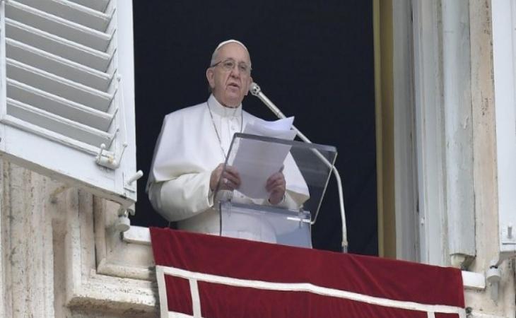 Roma Papası Qəzza ilə bağlı çağırış edib