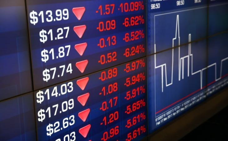 Dünya fond bazarlarında əsas indeks göstəriciləri enib