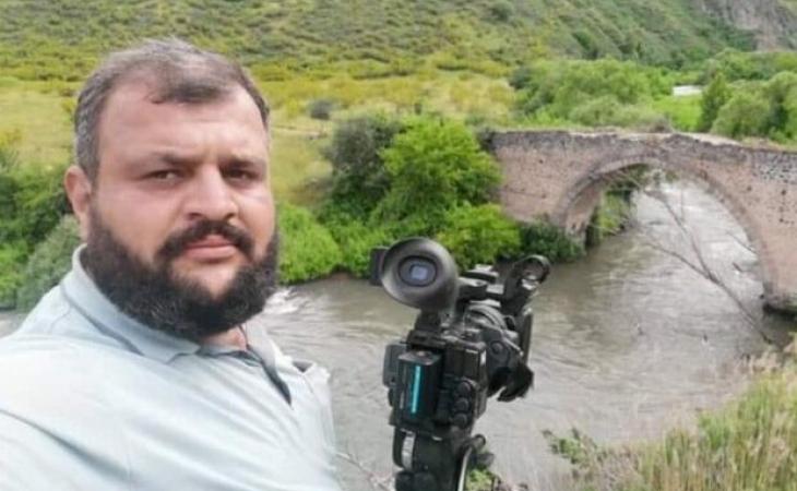 Şəhid jurnalistin ata yurduna qovuşma sevinci... - VİDEO