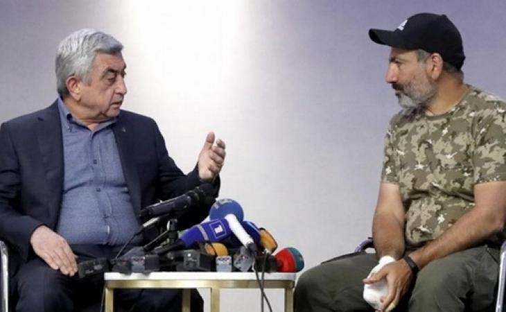 """Sarkisyan Paşinyanın gizli səsyazısını yaydı – """"Putinə dedim ki, razı deyiləm"""" + TAM MƏTN"""