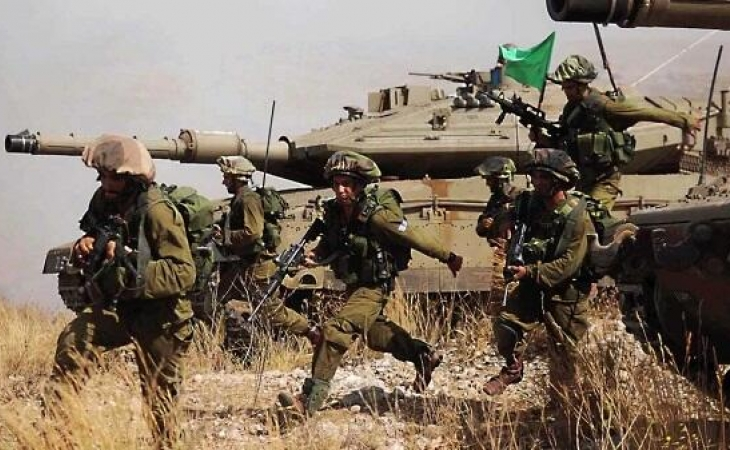 İsrail tanklarını Qolanda döyüş vəziyyətinə gətirib - ŞOK İDDİA