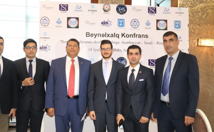 """""""Konfessiyalararası dostluq dialoqu: Azərbaycan – İsrail –Rusiya"""" beynəlxalq konfransı keçirildi - FOTOLAR"""
