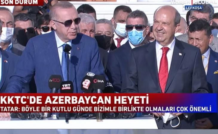Azərbaycan Türk Kiprini tanıyacaq? - Ərdoğan AÇIQLADI - VİDEO
