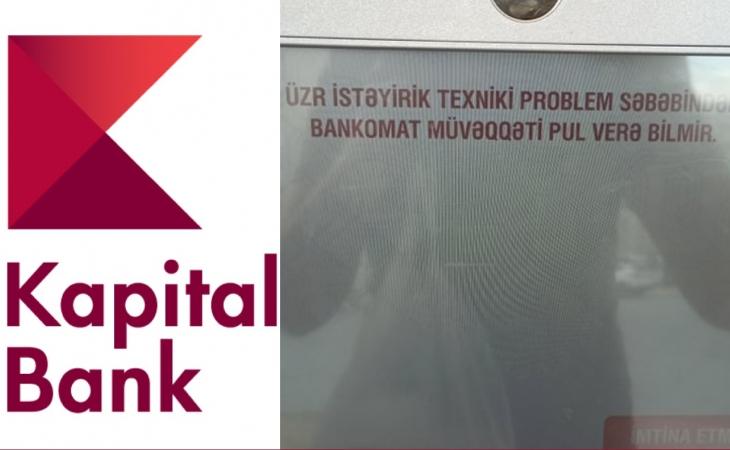 """""""Kapital Bank"""" Qurban bayramında sakinləri belə incidir - Şikayət"""