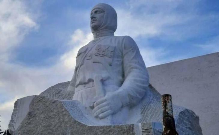 Rusiyada faşist Njde və tayqulaq Andranikə qoyulmuş abidələr tam söküldü - FOTOLAR