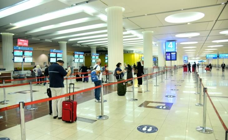 Dubay aeroportu fəaliyyətini bərpa edib