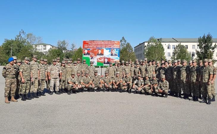 Azərbaycan Ordusunda səmti müəyyənetmə yarışları keçirilir