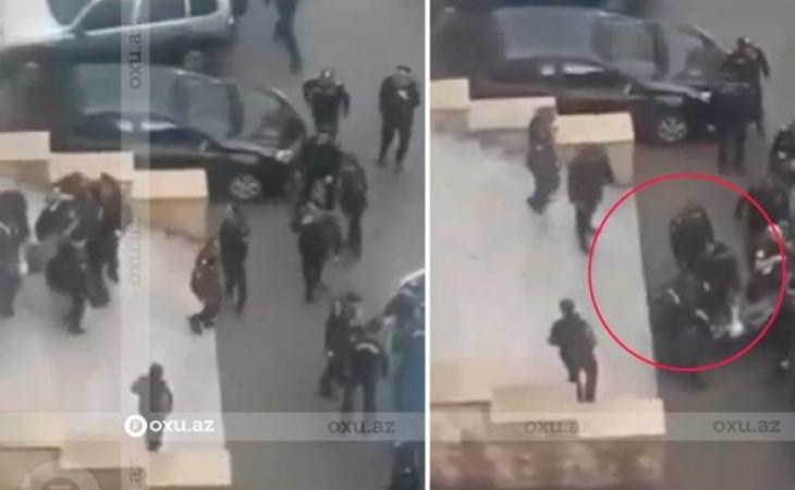 Bakıda polisin öldürdüyü qadının görüntüləri - Hadisə yerindən ANBAAN VİDEO