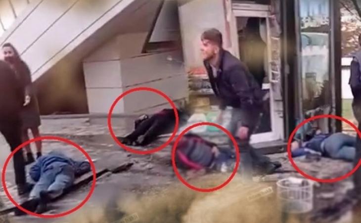 Bakıda 5 nəfərin ölüb, 21 nəfərin yaralandığı qəzadan DƏHŞƏTLİ GÖRÜNTÜLƏR - FOTOLAR (+18)