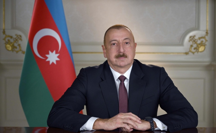 Prezident İlham Əliyev Tovuz rayonuna səfərə gedib